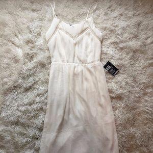 Express Ivory Midi Dress - Size XS